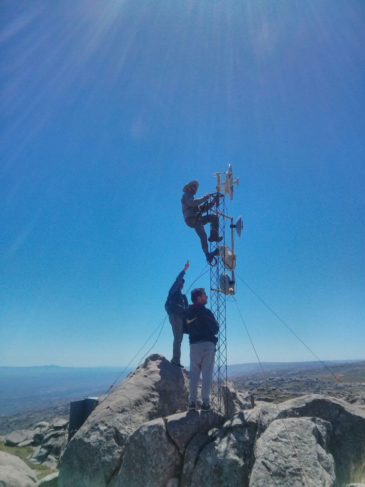 Implementação de redes comunitárias no Vale de Traslasierra